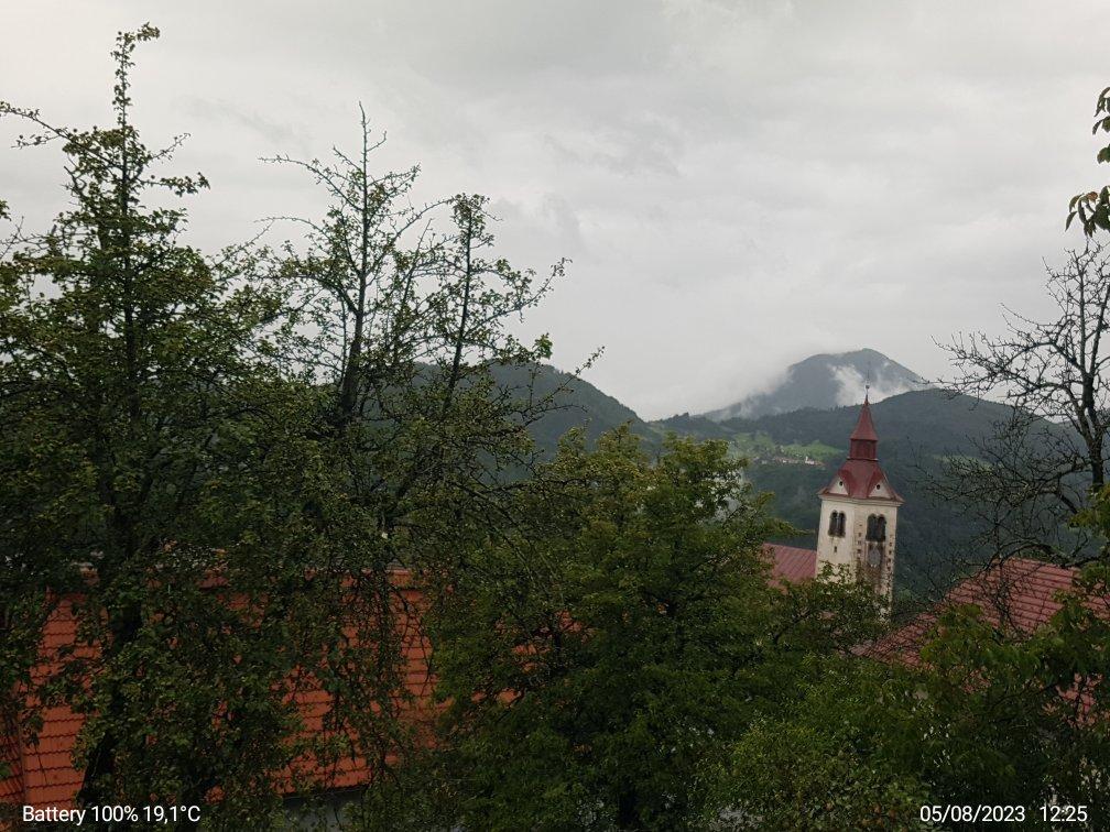 VP Planina pri Cerknem pogled  proti Kojci